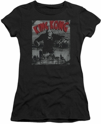 King Kong juniors t-shirt City Poster black