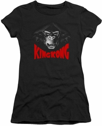 King Kong juniors t-shirt Kong Face black