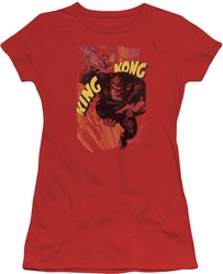 King Kong juniors t-shirt Plane Grab red