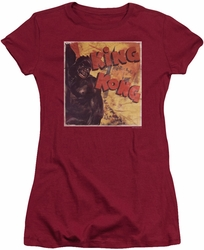 King Kong juniors t-shirt Primal Rage cardinal