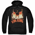 King Kong pull-over hoodie At The Gates adult black