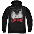 King Kong pull-over hoodie At The Gates Poster adult black