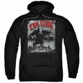 King Kong pull-over hoodie City Poster adult black