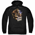 King Kong pull-over hoodie Kong And Ann adult black