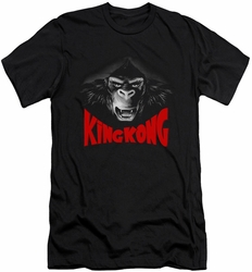 King Kong slim-fit t-shirt Kong Face mens black
