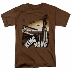 King Kong t-shirt Final Battle mens coffee