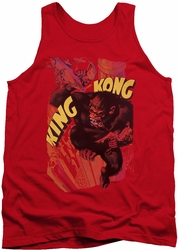 King Kong tank top Plane Grab mens red