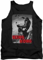 King Kong tank top Planes Poster mens black