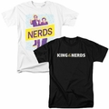 King of the Nerds t shirts