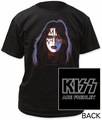 KISS ace frehley adult tee pre-order