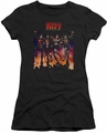KISS juniors t-shirt sheer Destroyer Cover black