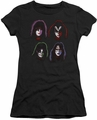 KISS juniors t-shirt sheer Solo Heads black