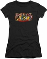 KISS juniors t-shirt sheer Stage Logo black