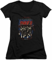 KISS juniors v-neck t-shirt Destroyer black