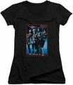 KISS juniors v-neck t-shirt Spirit of 76 black
