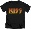 KISS kids t-shirt Classic black