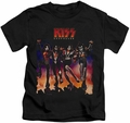 KISS kids t-shirt Destroyer Cover black