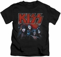 KISS kids t-shirt Kings black