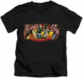 KISS kids t-shirt Stage Logo black