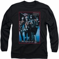 Kiss long-sleeved shirt Spirit Of 76 black