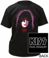 KISS paul stanley adult tee pre-order