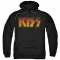 Kiss pull-over hoodie Classic adult black