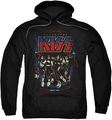 KISS pull-over hoodie Destroyer adult black