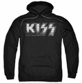 Kiss pull-over hoodie Heavy Metal adult black