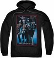 KISS pull-over hoodie Spirit Of 76 adult black