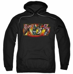 Kiss pull-over hoodie Stage Logo adult black