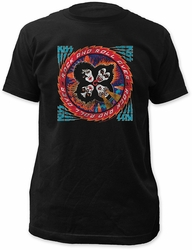 KISS rock and roll over fitted jersey tee pre-order