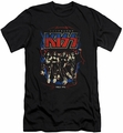 KISS slim-fit t-shirt Destroyer mens black