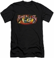Kiss slim-fit t-shirt Stage Logo mens black