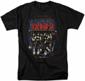 KISS t-shirt Destroyer mens black
