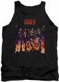 Kiss tank top Destroyer Cover mens black