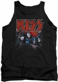 Kiss tank top Kings mens black