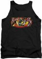 Kiss tank top Stage Logo mens black