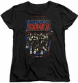 KISS womens t-shirt Destroyer black
