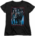 KISS womens t-shirt Spirit of 76 black