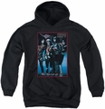 KISS youth teen hoodie Spirit of 76 black