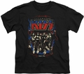 KISS youth teen t-shirt Destroyer black