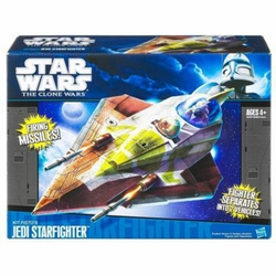Kit Fisto Jedi Starfighter Vehicle Clone Wars