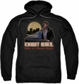 Knight Rider pull-over hoodie Full Moon adult black