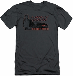 Knight Rider slim-fit t-shirt Ladies Knight mens charcoal