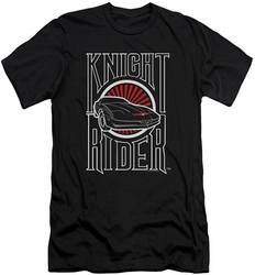 Knight Rider slim-fit t-shirt Logo mens black