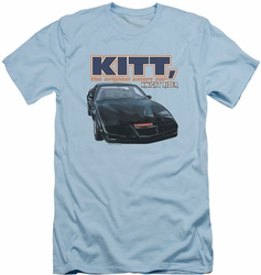 Knight Rider slim-fit t-shirt Original Smart Car mens light blue