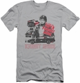 Knight Rider slim-fit t-shirt Super Pursuit Mode mens silver