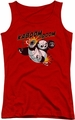 Kung Fu Panda juniors tank top Kaboom Of Doom red