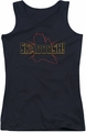 Kung Fu Panda juniors tank top Skadoosh black