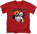 Kung Fu Panda kids t-shirt Kaboom Of Doom red